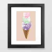 Kitty Kones Framed Art Print