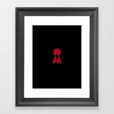 ANT–MAN  Framed Art Print