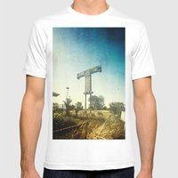 Texas T Mens Fitted Tee White SMALL