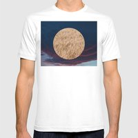 Little Planet #02 Mens Fitted Tee White SMALL
