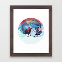 Círculo Vicioso Framed Art Print