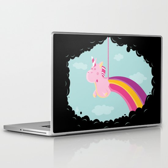 Licorne Piñata Black Version Laptop & iPad Skin