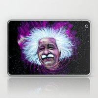 Albert Einstein Nebula Laptop & iPad Skin
