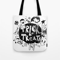 For Halloween - Trick or treat Tote Bag