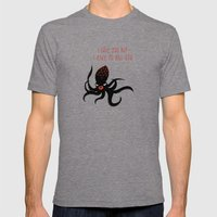 Squid Fatale Mens Fitted Tee Tri-Grey SMALL
