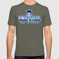 Blue Steel Mens Fitted Tee Lieutenant SMALL