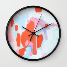 Color Study No. 11 Wall Clock