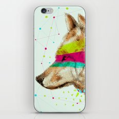 Cherokee Wolf II iPhone & iPod Skin