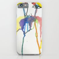 iPhone & iPod Case featuring Jane Doe // Watercolour by Marwa Hamad