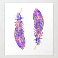 Feather III Art Print