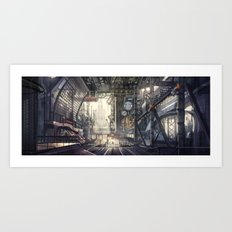 Industrial District Art Print