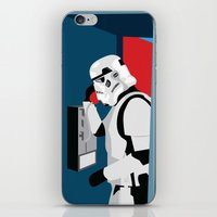 Stormtrooper Phone Home iPhone & iPod Skin