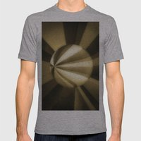 Sol Adentro, obscuro Mens Fitted Tee Athletic Grey SMALL