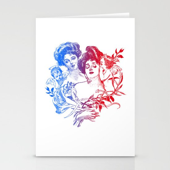 Little Whispers Stationery Card