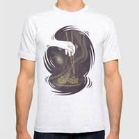 Divine Sushi Mens Fitted Tee Ash Grey SMALL