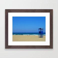 Creta Seeside Framed Art Print