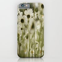 white daisies :) iPhone 6 Slim Case
