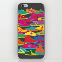 Sneakers iPhone & iPod Skin