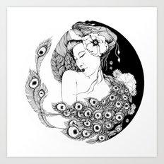 Asian Song Art Print