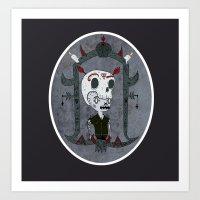 Skullcap Art Print
