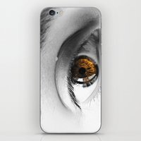 There's A Fire In Your E… iPhone & iPod Skin