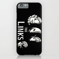 iPhone Cases featuring the links by Louis Roskosch