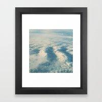 Cloud Sea Framed Art Print
