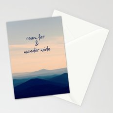 Roam Far & Wander Wide Stationery Cards