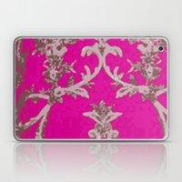 Lush Pink Textile  Laptop & iPad Skin