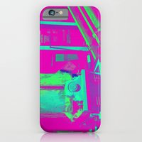 Industrial Abstract Purple iPhone 6 Slim Case