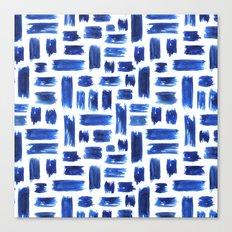 Grungy brushstrokes Canvas Print