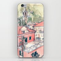 Baveno, Lake Maggiore, Northern Italy. iPhone & iPod Skin