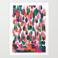 Raining Love Art Print
