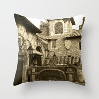 Altos de Chavon Throw Pillow