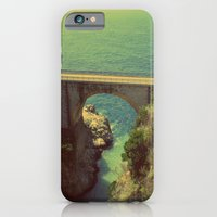 iPhone & iPod Case featuring Bridge in Amalfi Coast, Italy by shari hochberg