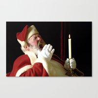 't was the night before Christmas... Canvas Print