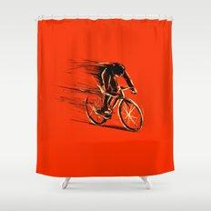 BikeCycling Shower Curtain