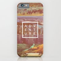 adventure iPhone & iPod Cases featuring Adventure by Zeke Tucker