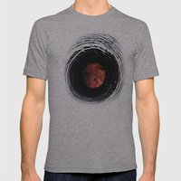 Farm art Wire macro abstract photography Mens Fitted Tee Athletic Grey SMALL