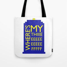 The Wife Of The Doctor Tote Bag