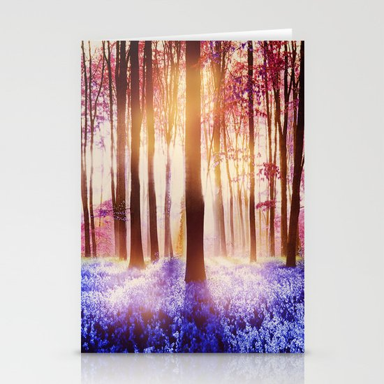There is a light that never goes out Stationery Card