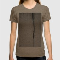 The Decay Womens Fitted Tee Tri-Coffee SMALL
