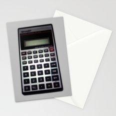 Fuck Math Stationery Cards