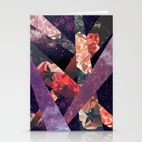 ROSES IN THE GALAXY Stationery Cards