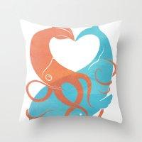 Hug It Out Throw Pillow