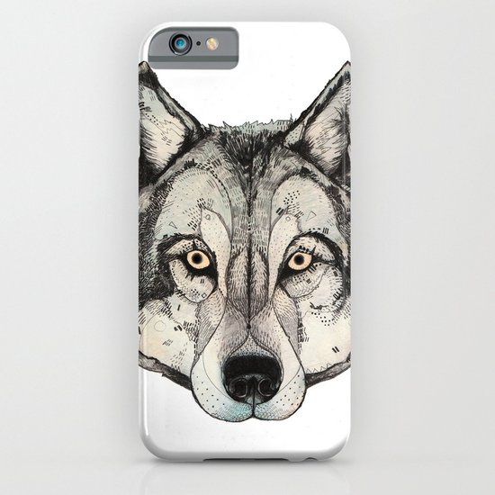 Wolf Mask iPhone & iPod Case