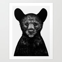 Little Bear Art Print