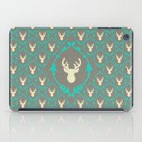 Oh Deer (white) iPad Case