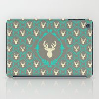 Oh Deer (white) iPad Case
