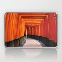 Thousand Torii Gates Laptop & iPad Skin